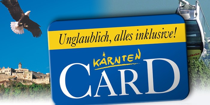 Kaernten Card holen